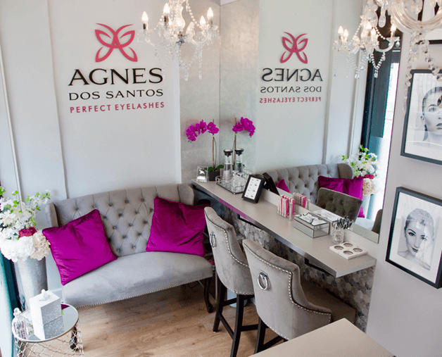 Agnes dos Santos Vegan Lash Salon London