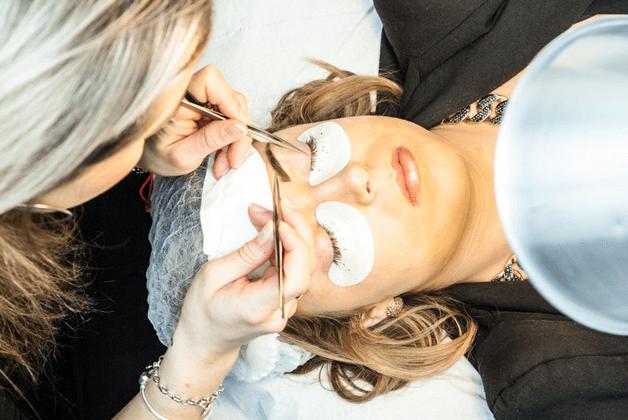 Eyelash Extensions London, Step by Step